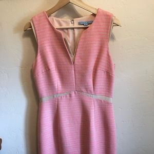 Antonio Melani pink & cream dress